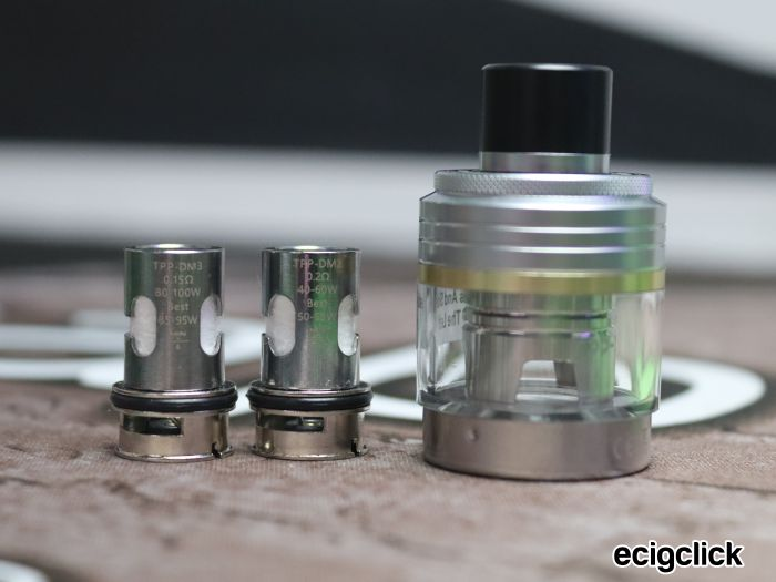 Voopoo Drag X/S Pro tanks and coils