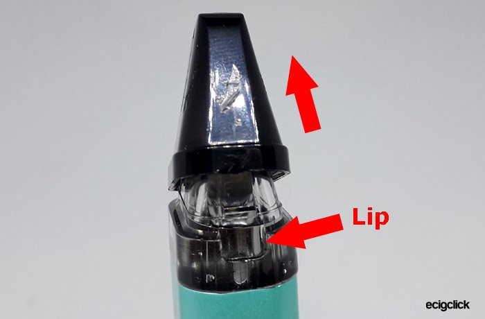 mouthpiece filling